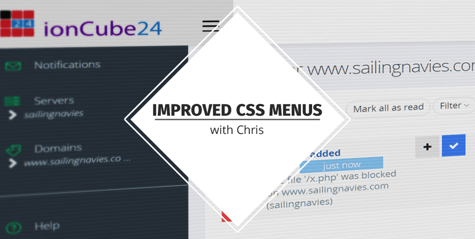 Improved CSS Menus with Chris