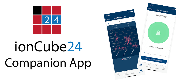 ionCube24 App – Dashboard Overview Update